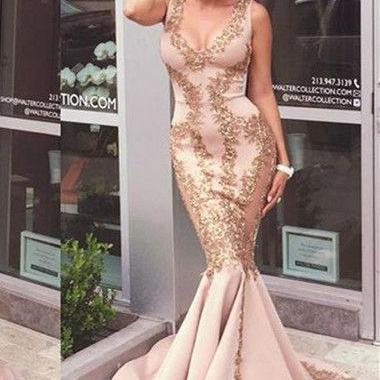 Mermaid prom dresses,prom dresses l..
