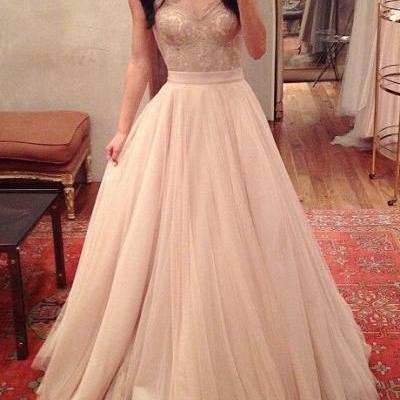 Charming Prom Dress,Spaghetti Straps Prom Dress,A-Line Prom Dress,Noble Prom Dress,Tulle Prom Dress LB10
