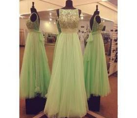 Green Prom Dress, Af..