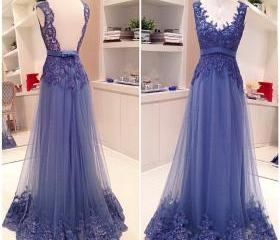 Lace Prom Dress, Off..