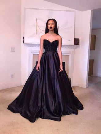 Beautiful Cute Black Prom Dresses Photos - Styles & Ideas 2018 ...