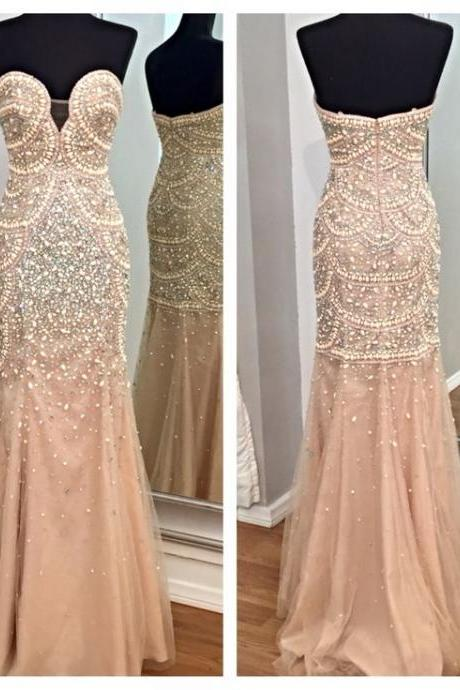 Mermaid Prom Dress, Sweet Heart Prom Dress, Gorgeous Prom Dress, Sexy Prom Dress, Fantastic Prom Dress, Occasion Dress