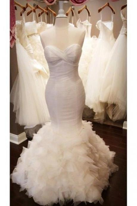 Simple Wedding Dress ,Mermaid Wedding Dress ,Wedding Dress for Women ,Wedding Dress for Bride ,Vestidos De Novia ,Bridal Dress 2016 ,Wedding Dress Plus Size ,Cheap Wedding Dress ,Wedding Dress Costume