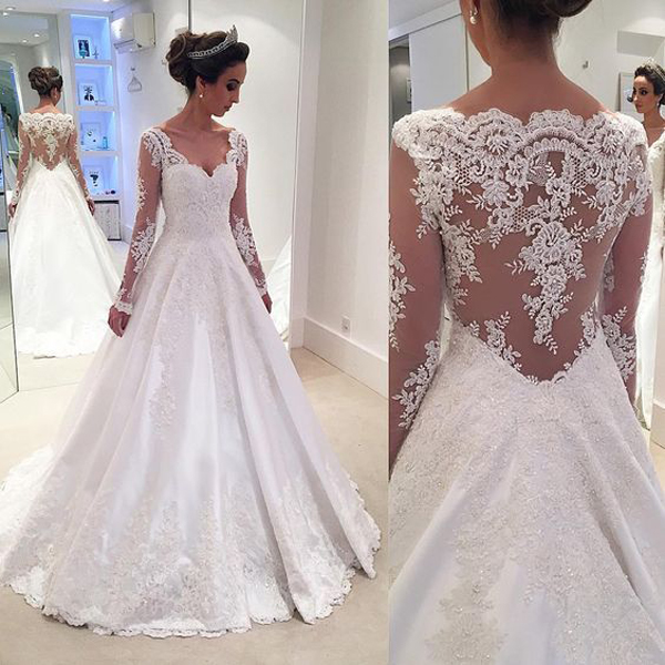 Bridal Dress 2017,Long Sleeve Bridal Dress,Bridal Gowns,Lace Bridal Dress,Bridal Dress Plus Size,Bridal Dress A Line ,Wedding Dress 2017,Wedding Dress for Women,Wedding Dress Plus Size,Wedding Dress for Juniors,Elegant Wedding Dress,Illusion Wedding Dress